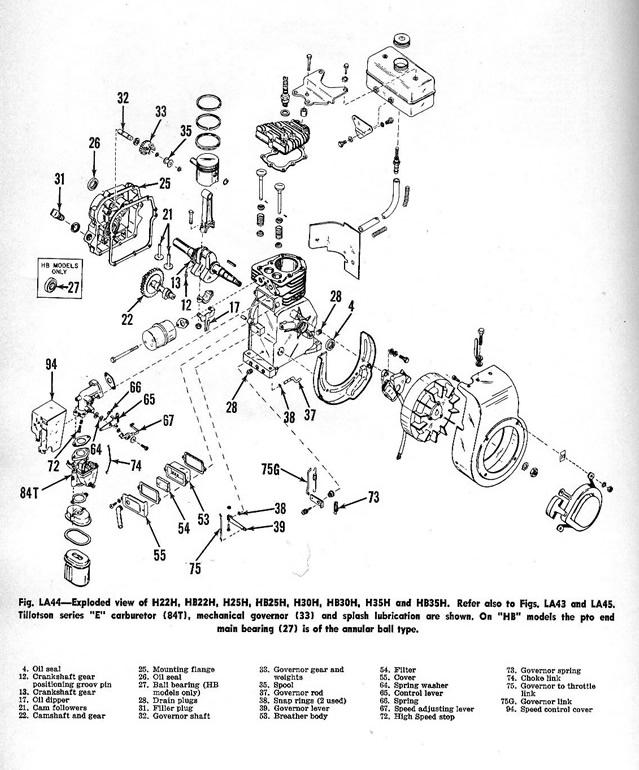 1965 tecumseh engine diagram