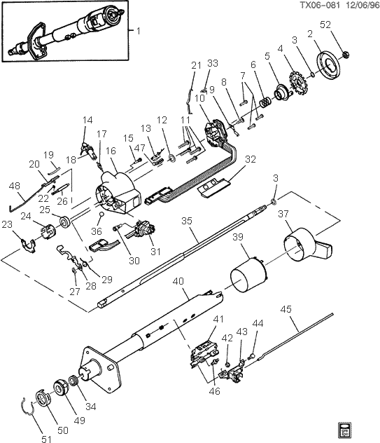 84 chevy steering column wiring diagram