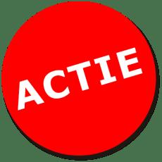 ACTIE: Chocoladeletters en kerstkransjes