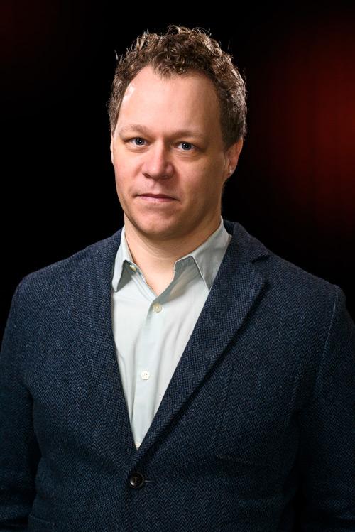 Patrik Steorn, ny chef för Thielska galleriet, pressbild 2013. Fotograf Stefan Tell