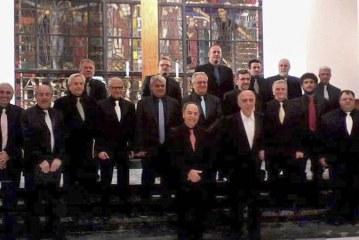 Το Ανδρικό Τμήμα της Χορωδίας ΣΥΓΧΡΟΝΗ ΕΚΦΡΑΣΗ ερμηνεύει την Ορθόδοξη Λειτουργία του Νικόλαου Μάντζαρου