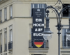 WM-Deutschland-Fahne am Berliner Adlon Hotel