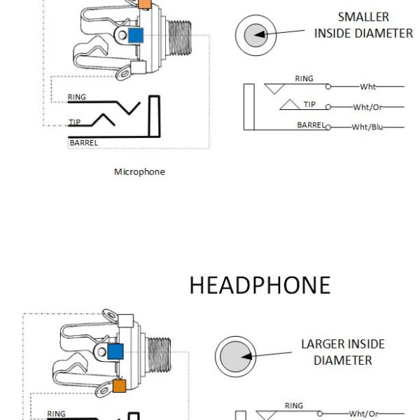 aircraft headset jack wiring diagram
