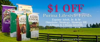 Save On Purina Lifestyle Horse Feeds :: Steinhauser's