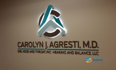 Metal Laminated Acrylic Letters