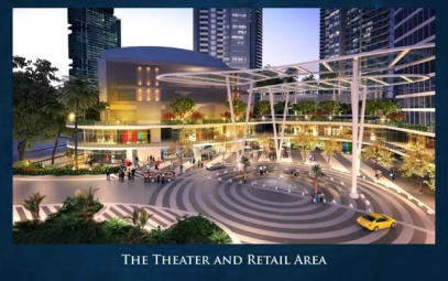 Manila's finest and newest performing arts theatre at the upcoming Proscenium, which also boasts retail spaces and upmarket dining
