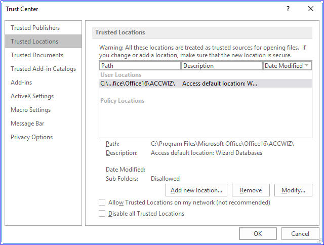 How to Fix Microsoft Access Database Error 2950?