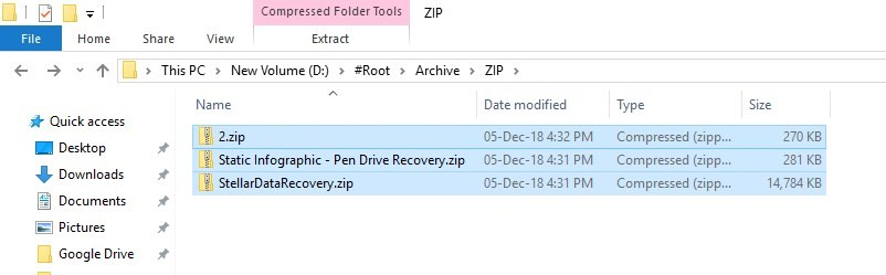 Zip File Recovery Guide - How to Recover Deleted Zip Files?