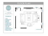 Floor Plans for Living Room: E-Design Client - Stellar ...