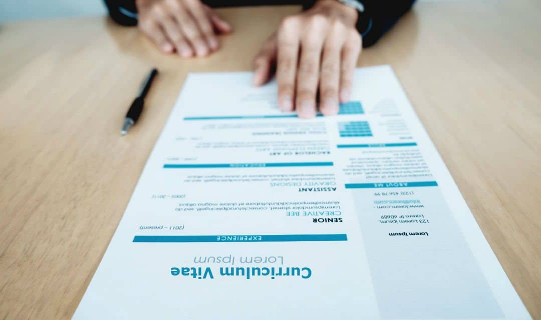 What is a Curriculum Vitae? With Example Curriculum Vitae Format