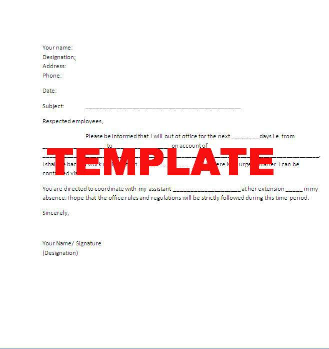 Holiday Leave Form Template | Sample Resume4U Service
