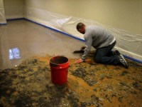 How to Remove Carpet Glue from Concrete