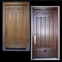 Refinishing Exterior Wood Doors
