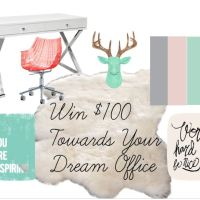 $100 Home Office Giveaway