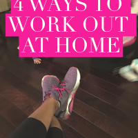 4 Ways to Work Out at Home, Plus My Fitness Must Haves