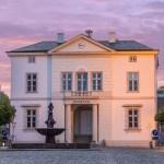 Abendstimmung am Bad Oldesloer Rathaus
