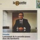 Garantie J Gazette