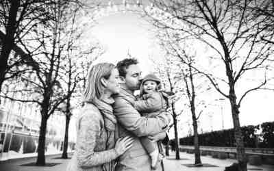 London landmark family photo session
