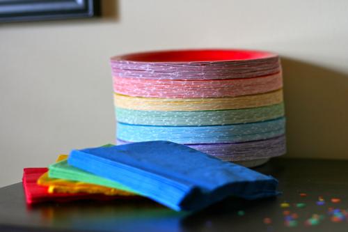 #rainbow party // via stephanie howell