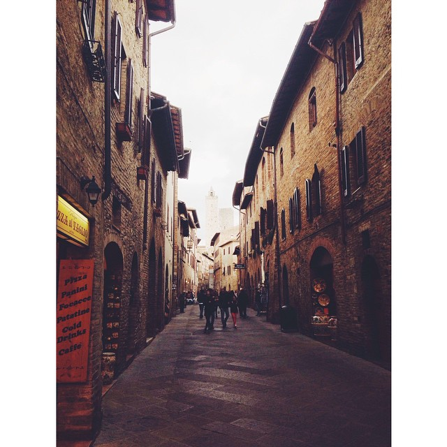 San Gimignano, #Tuscany // Via Stephanie Howell