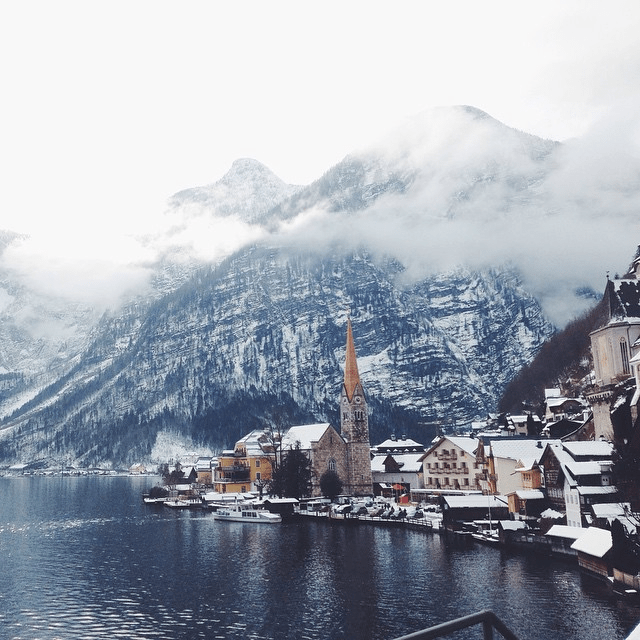 Hallstatt, Austria // via Stephanie Howell