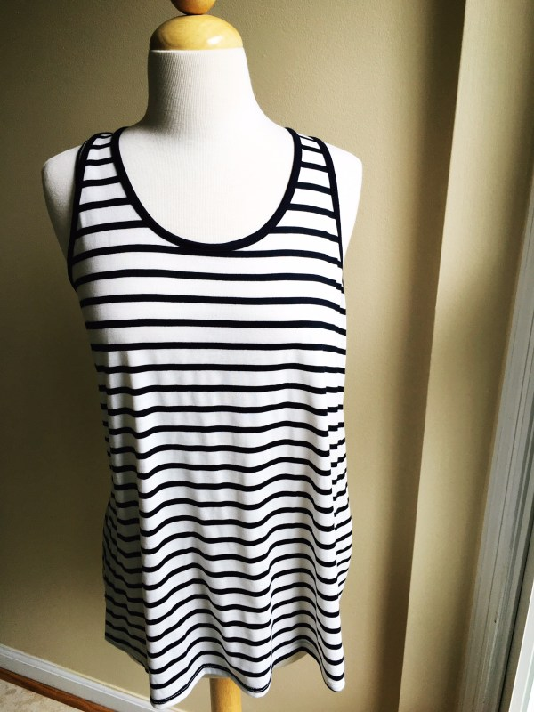 Market & Spruce Garrity Tie Back Knit Tank Top // via Stephanie Howell #stitchfix