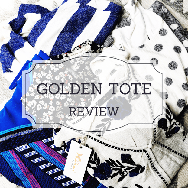 Golden Tote Review // via Stephanie Howell #goldentote