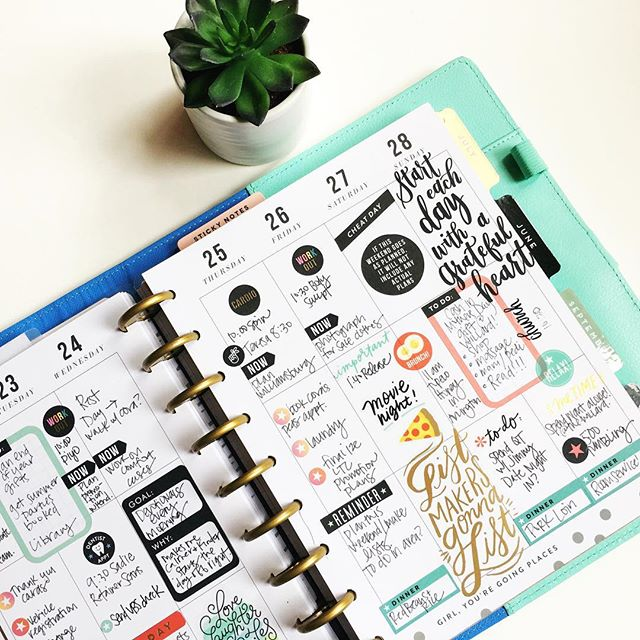 Stephanie Howell // Happy Planner #planner