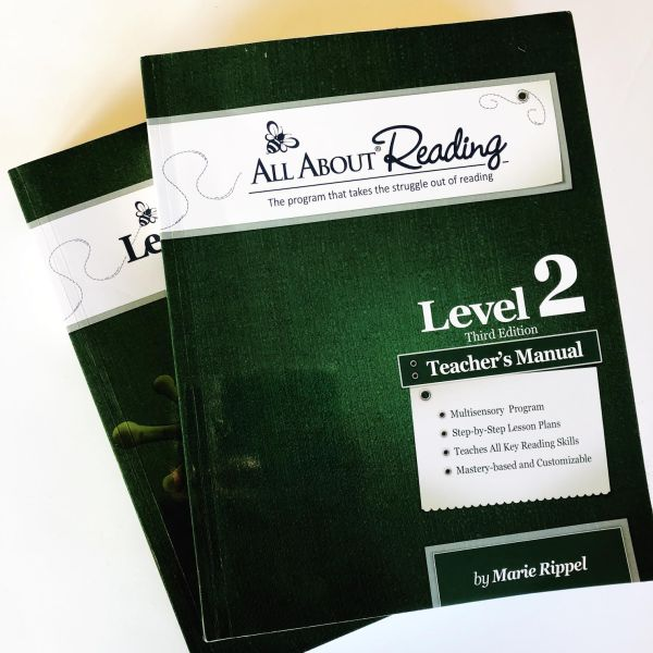 #AllAboutReading Curriculum Review // via Stephanie Howell