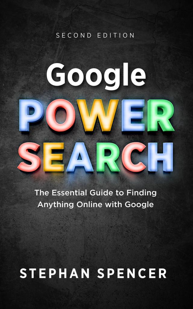 google power search stephan spencer