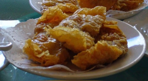 Fried Bean Curd Rolls with Special Filling