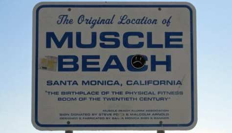 Welcome to Muscle Beach Santa Monica!
