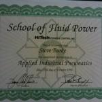 Certificate - Fluid Power