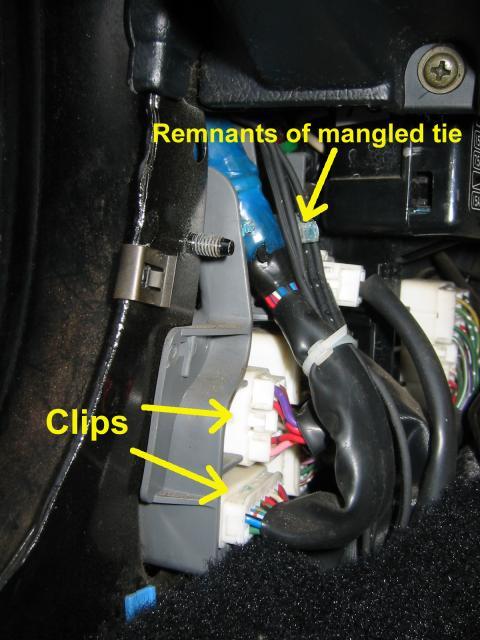 MR2 door wiring fix How-To