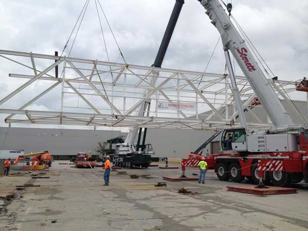 Evansville IN Locations Sterett Crane and Rigging