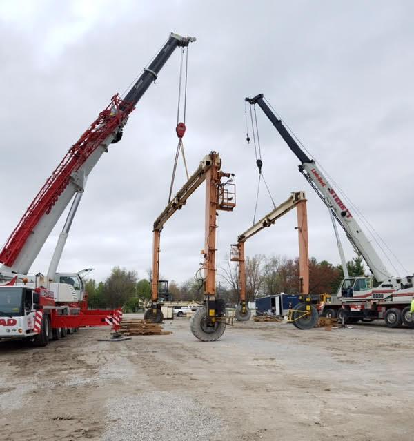 Gantry Crane in Louisville, Kentucky Sterett Crane Rental