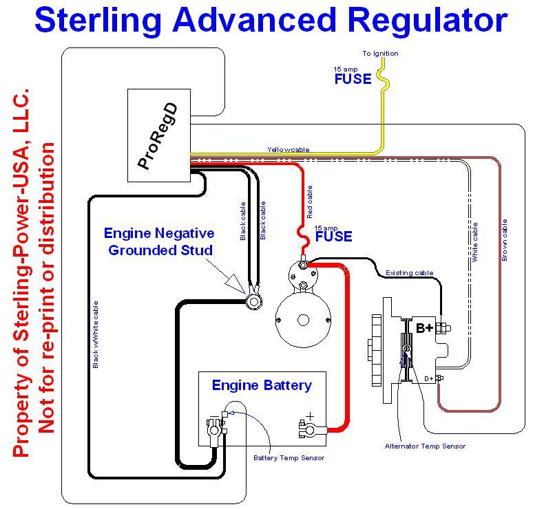 Wiring Diagrams  Literature for Pro Charge Ultra Marine Battery