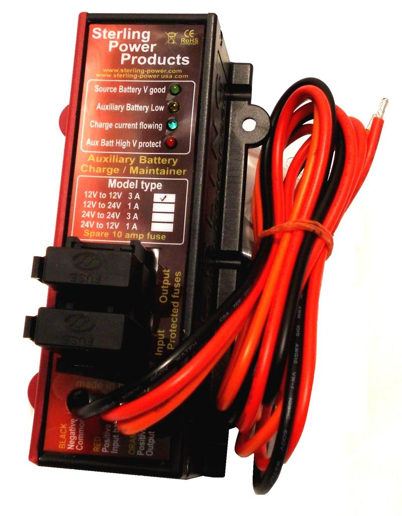 12v To Auxillary Battery Maintainer Auto Electrical Wiring Diagram