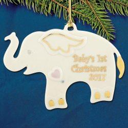 Stupendous 2017 Lenox Elephant Porcelain Ornament Collectables 2017 Lenox Elephant Porcelain Ornament Lenox Ornaments 2017 Lenox Ornaments 2016