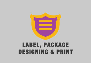 Label, Package Designing & Print