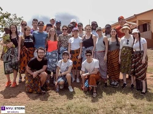 Undergraduate Current Students Stern Around the World