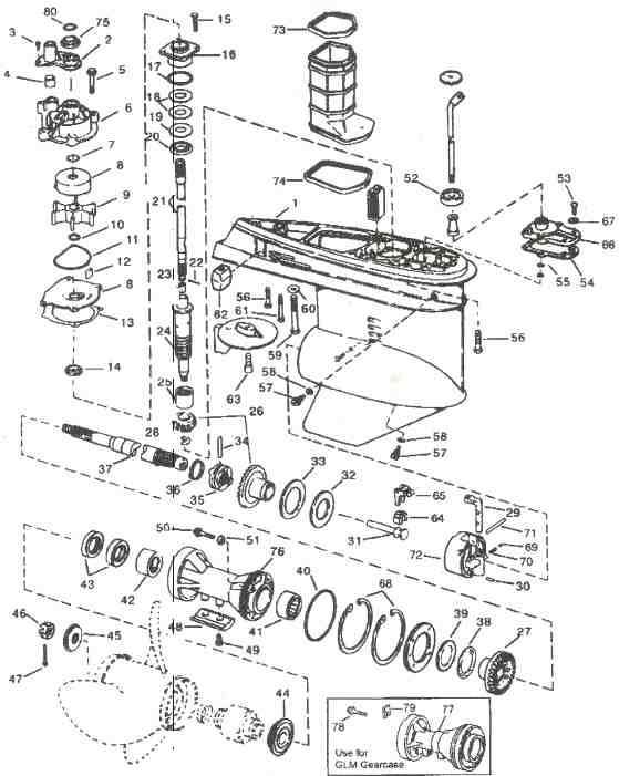 Yamaha 115 Hp Outboard Wiring Diagram Furthermore Outboard Motor Parts Diagram Impremedia Net