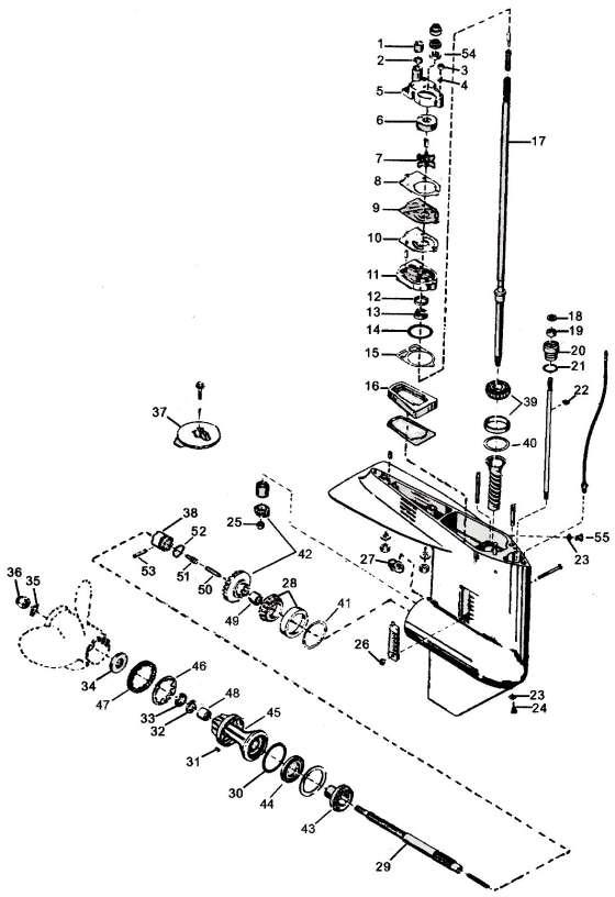 mercury outboard motor 65 hp wiring harness