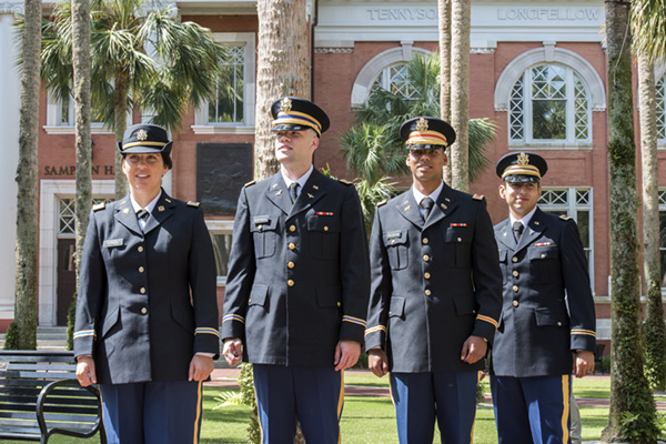 Army ROTC Commissions 4 at Stetson \u2013 Stetson Today