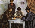 Card Players Paul Cezanne Malmo Sweden Oil Painting Reproductions