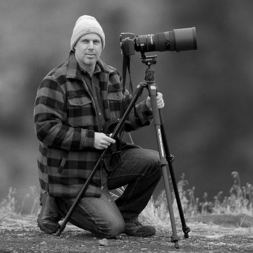 Photograph of Seattle, Washington based fine art landscape photographer Steve G. Bisig.