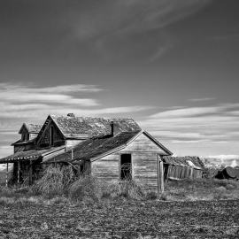 Old Abandoned Farm House, Withrow, Washington, 2013