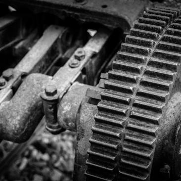 Photography Project: Rusty Coal Mining Equipment