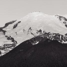Mt Rainier Panorama, Highway 410, Washington, 2014