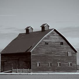 Old Barn, Manastash Road and Strande Road, Ellensburg, Washington, 2011